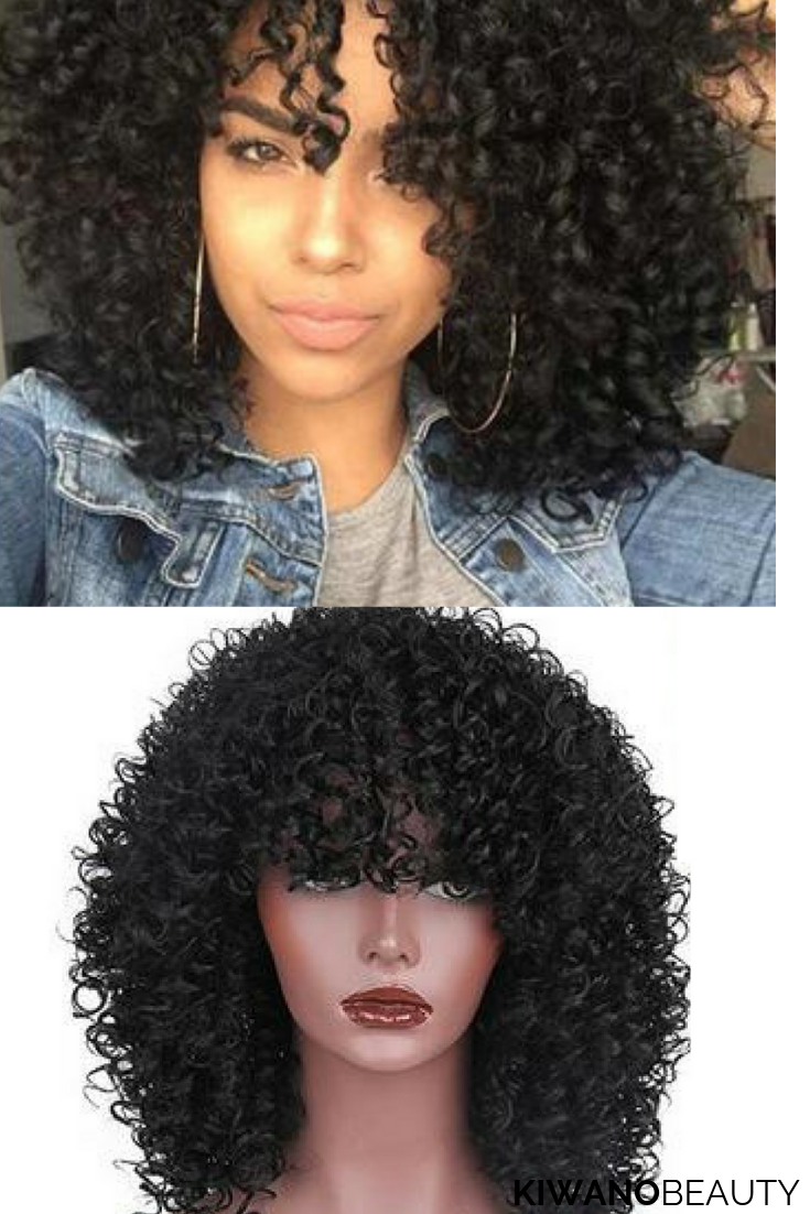 14 Inch Short Curly Synthetic Wig | HAIR
