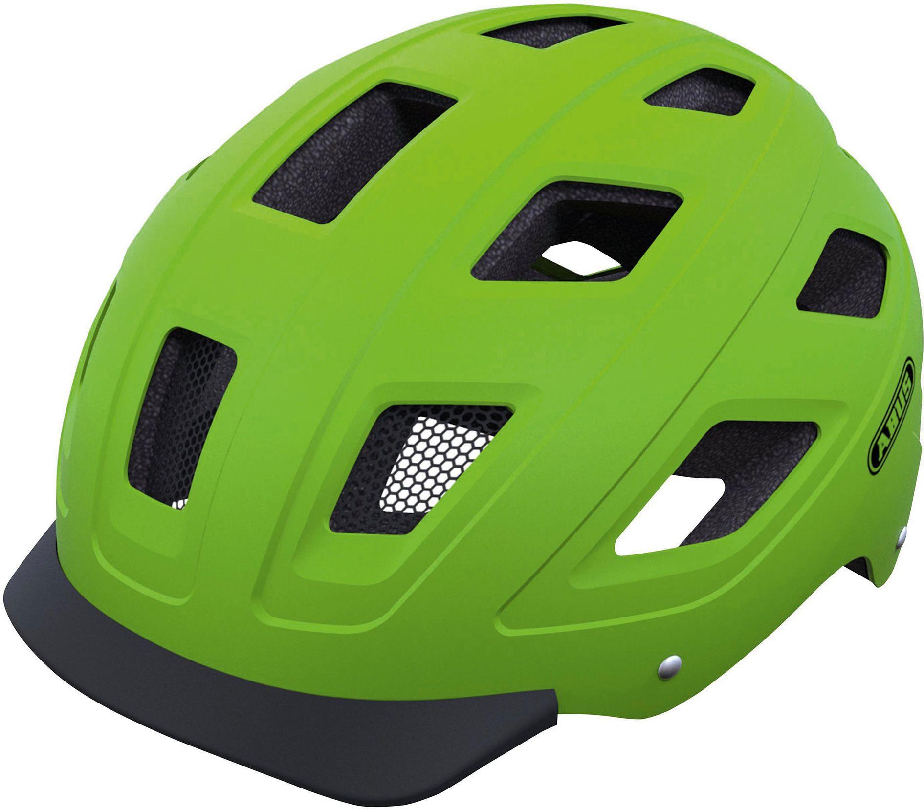 Hyban Green ABUS ciclismo cascos cascosurbanos bicis