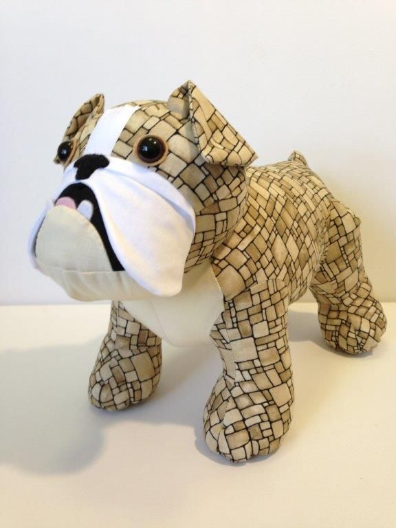 English Bulldog Toy Kit Softie English Bulldog Toy Kit Funky