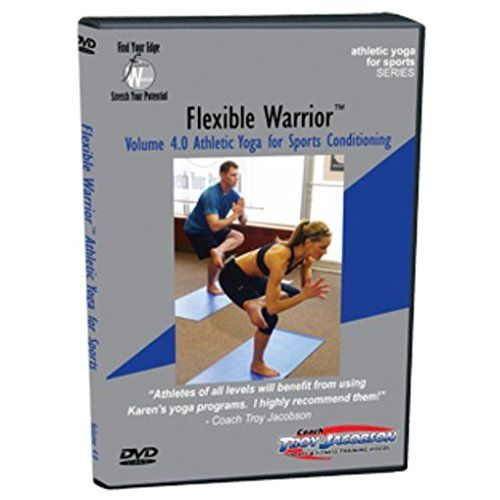 Spinervals Flexible Warrior 40 Athletic Yoga for Sports DVD -- Details can be found by clicking on the image.