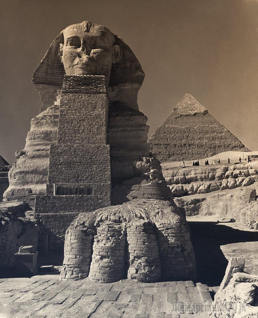 необычных фотографии древнего египта хонду уже