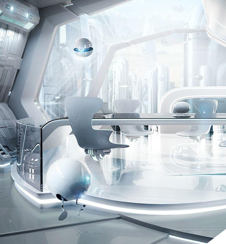 офис будущего картинки что вынуждены видеть