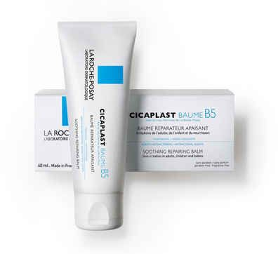 La Roche Posay Cicaplast Baume B5 Skin Repairing Balm This Velvety Balm Effectively Moisturizes And Con Imagenes Belleza De Drogueria Belleza Francesa Cicatrices De Acne