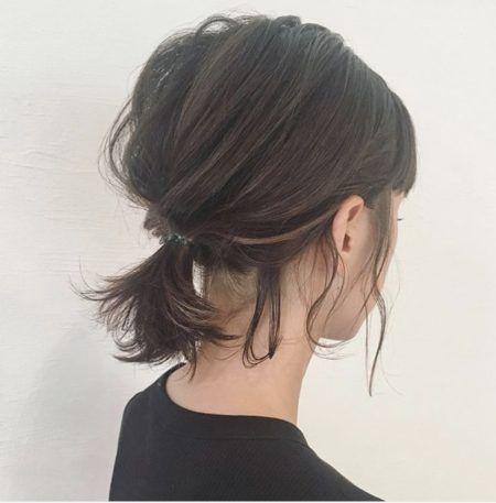 ボブアレンジ 簡単にできる絶対可愛くなれる 髪型 ヘアスタイル20