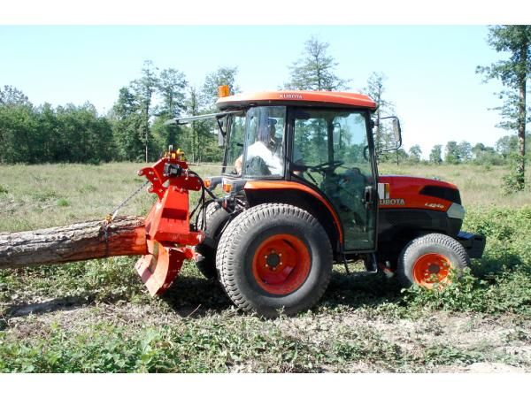 treuil forestier micro tracteur