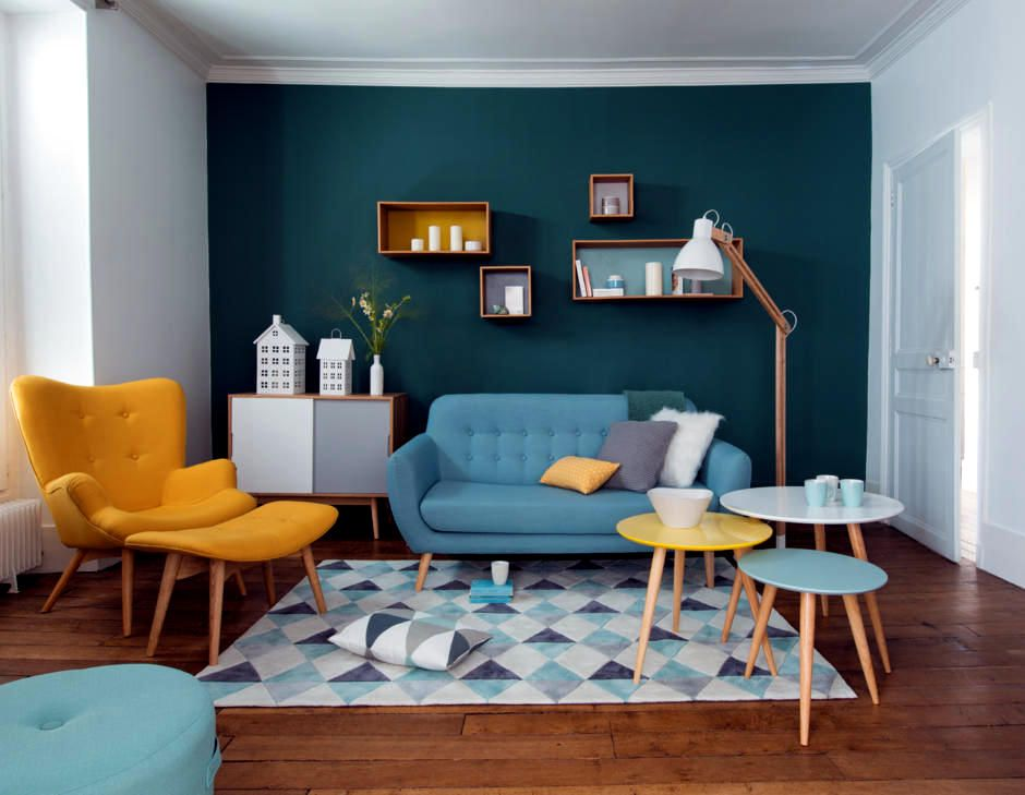 The complementary colors yellow and blue | + MCM + | Pinterest ...