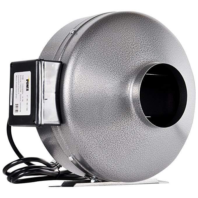 iPower 12 inch 1060 CFM Inline Duct Ventilation Fan HVAC