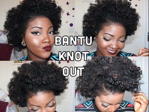 Pin On Hair Natural Tutorials