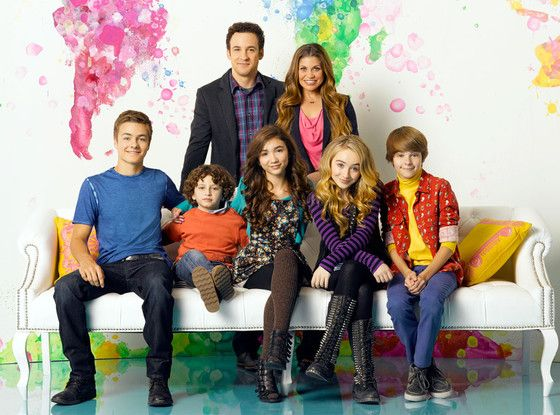 Girl Meets World: First Look at the Matthews Family Portrait?See the Adorable Pic! | E! Online Mobile