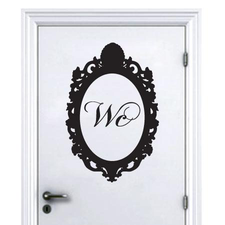 Stickers Porte Baroque Wc Stickers Malin Other In 2019