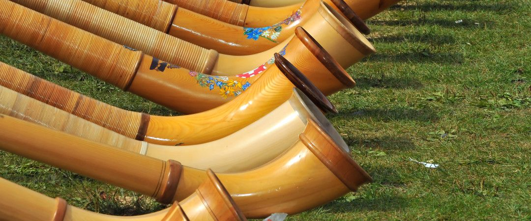 The Alphorn Is A National Symbol Of Switzerland Once Used By