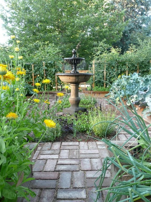 25 Potager Garden Design Ideas