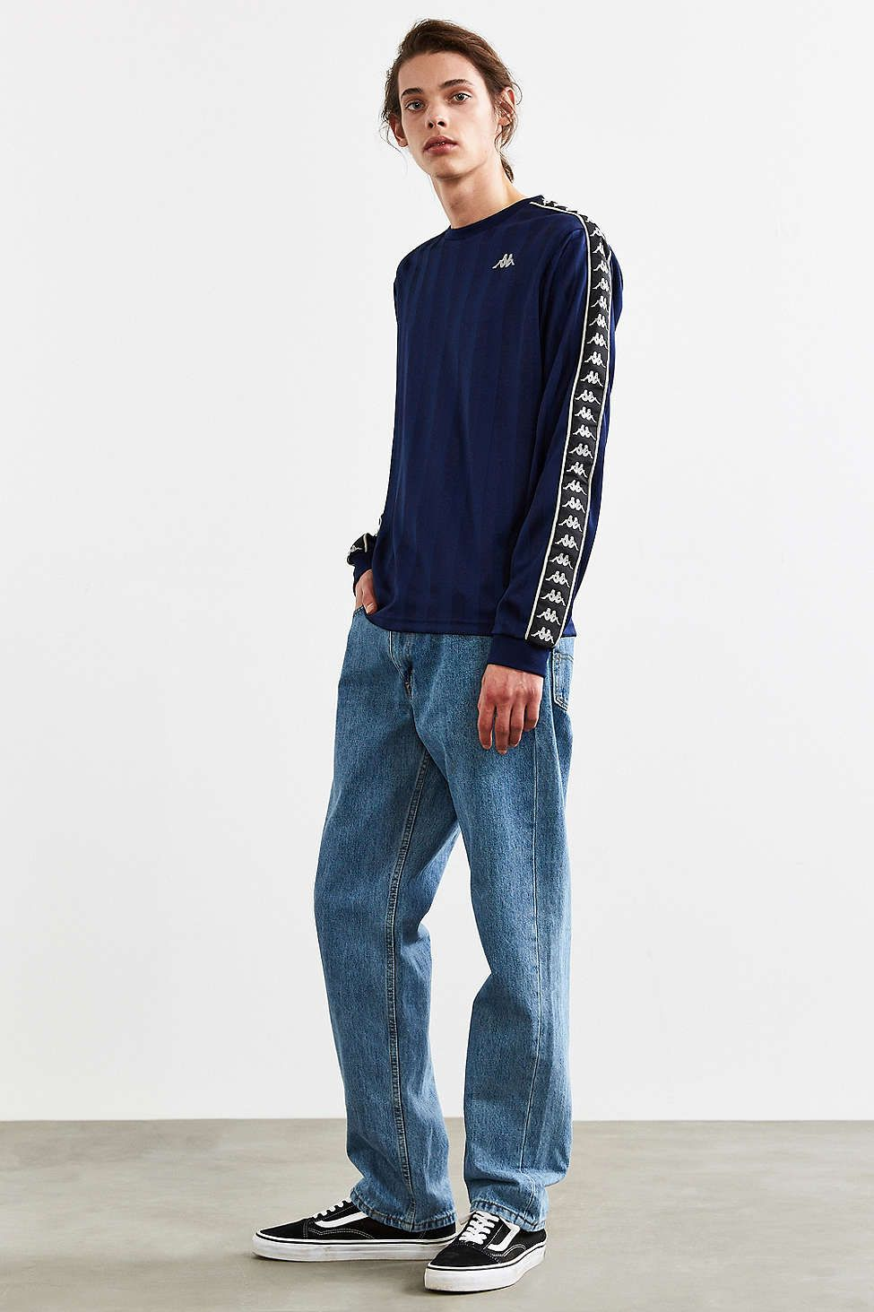 Kappa Clifton Long Sleeve Tee - Urban Outfitters