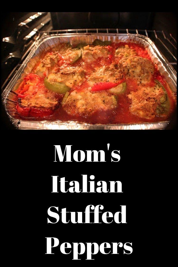 Photo of Mom's Italian Stuffed Pepper