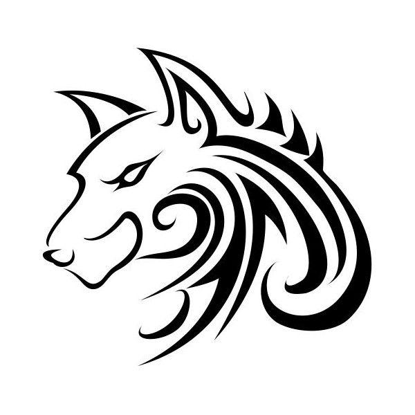 tatouage tribal loup lupi pinterest tribal wolf tattoos tatouages tribaux et loups. Black Bedroom Furniture Sets. Home Design Ideas