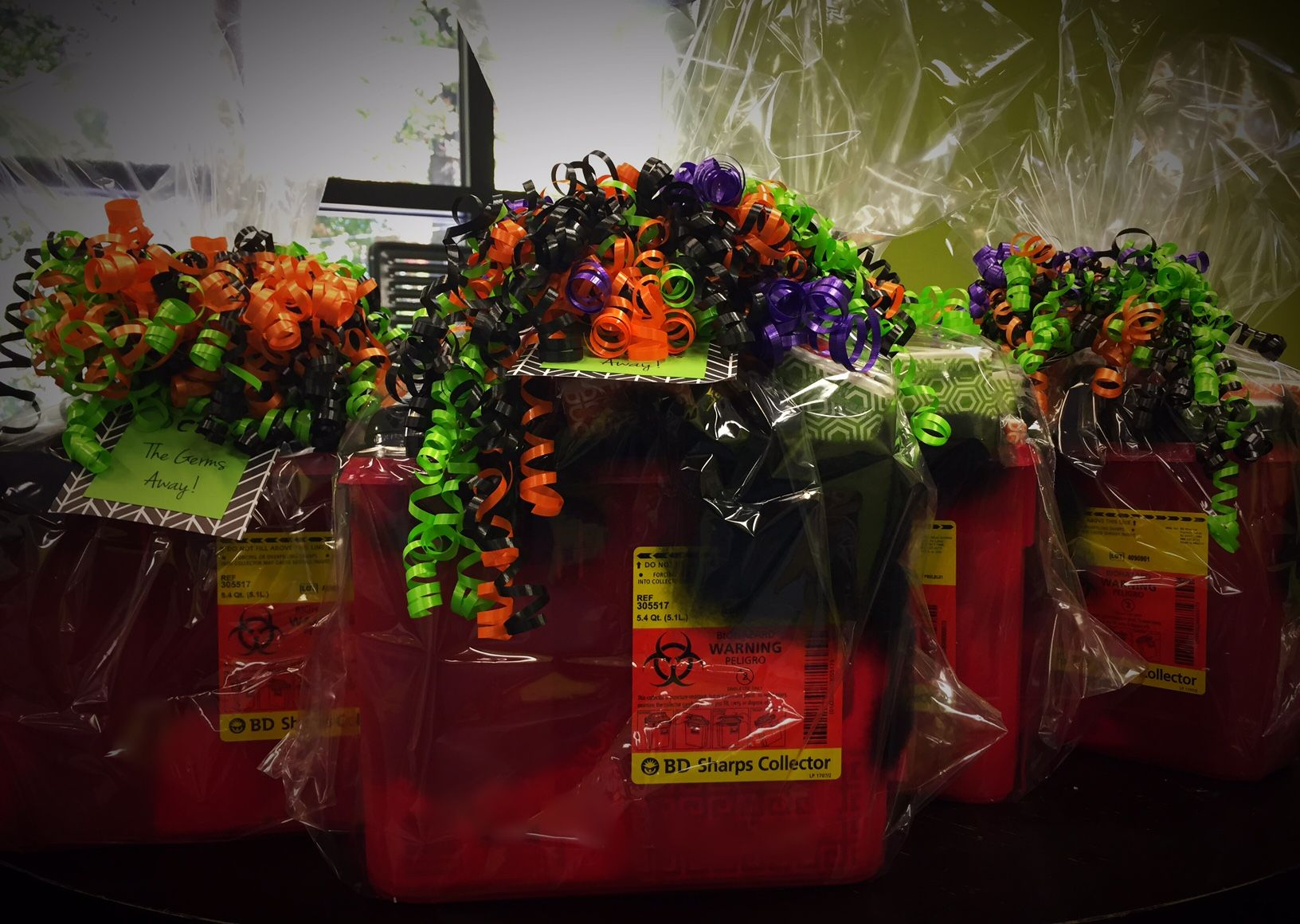 Halloween Baskets to