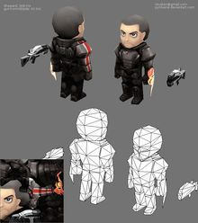 MassEffect characters remade in Chibi style