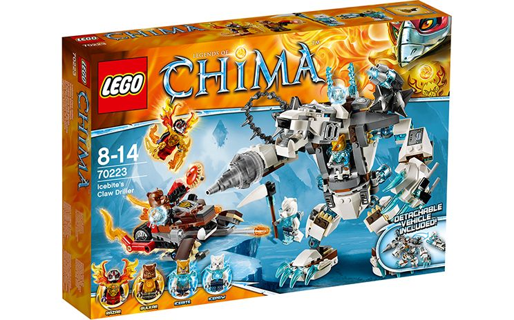 70223 Icebite's Drilklauw - Producten - Chima LEGO.com