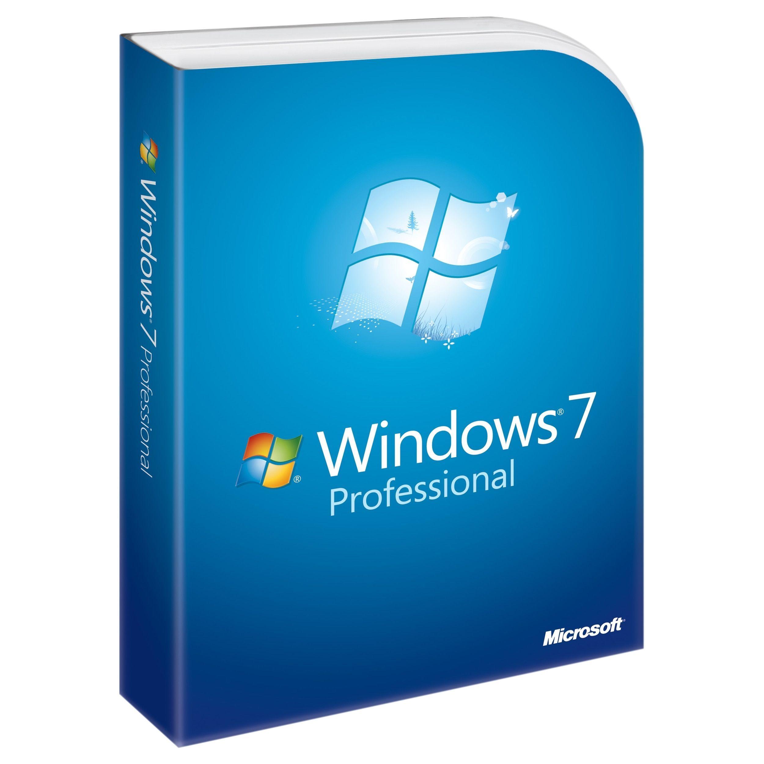 Microsoft Windows 7 Professional With Service Pack 1 32 Bit