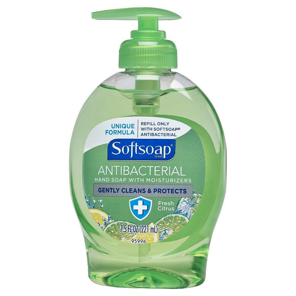 Softsoap Antibacterial Hand Soap With Moisturizers Fresh Citrus