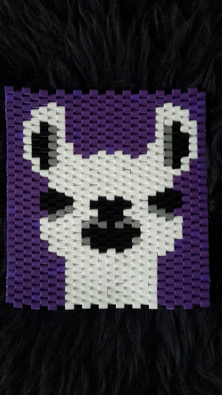 Diy Weben Brickstitch Miyuki Perlen Wolf 3