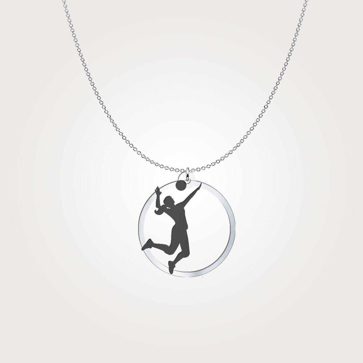 Volleyball Necklace Etsy In 2020 Volleyball Necklace Necklace Etsy Necklace