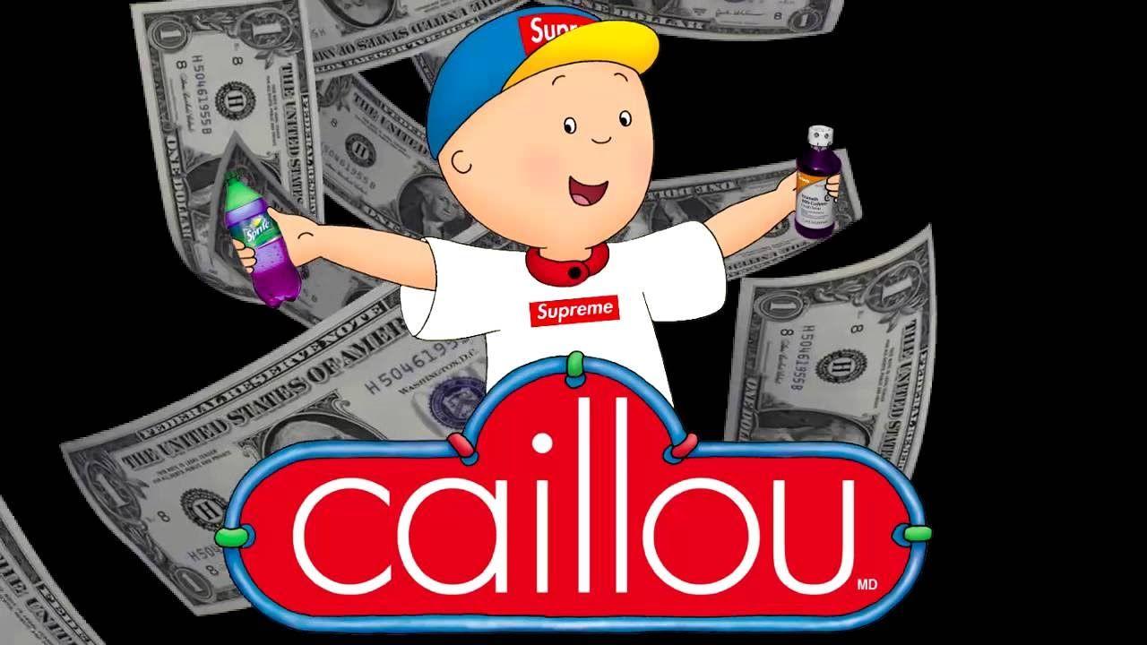 Caillou Theme Song THUG Remix | caillou theme song thug