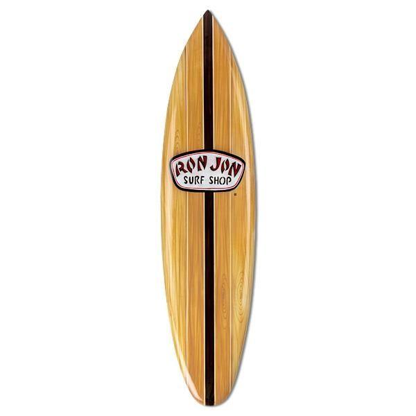 Natural Art Surf Shop: Ron Jon Natural Large Surfboard Sign