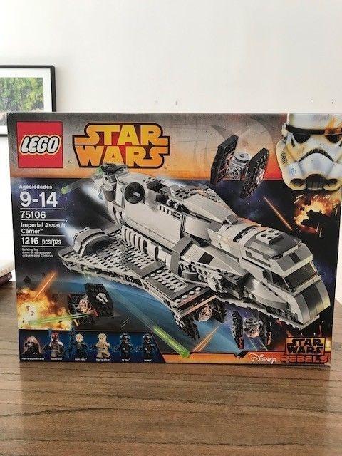 Lego Imperial Wars Star Carrier75106 Assault HIE2D9