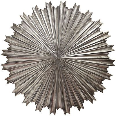 Our remarkable silver burst wall decor makes a lasting impression in ...