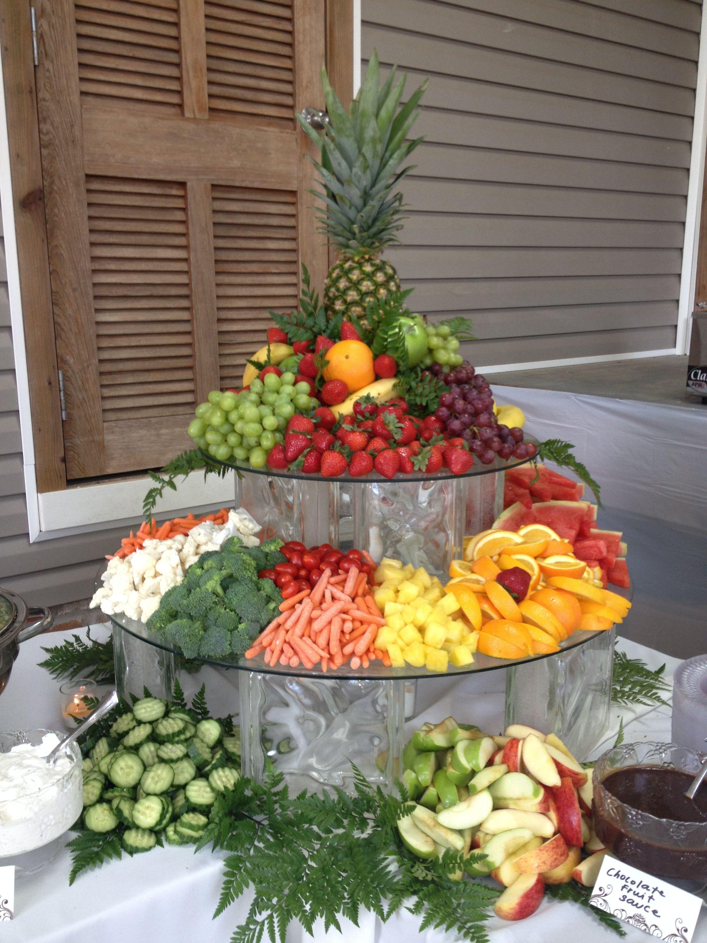 Fruit amp Veggie Display Shady Oaks Catering Weddings