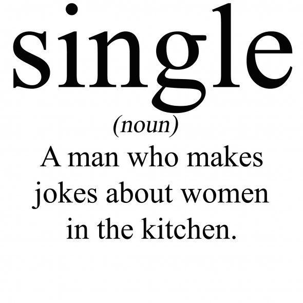 single man funny