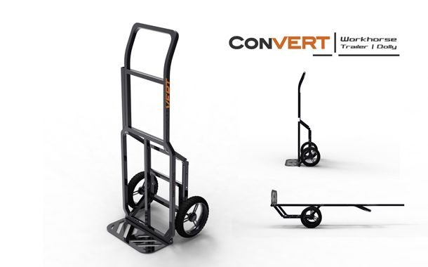 Ideacious Convert Bike Trailer Bicycle Cargo Trailer Bike