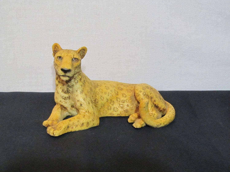 leopard figure knickknack original by castagna made in italy