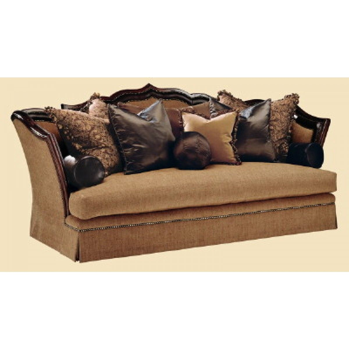 Marge Carson Lizette Sofa With Images