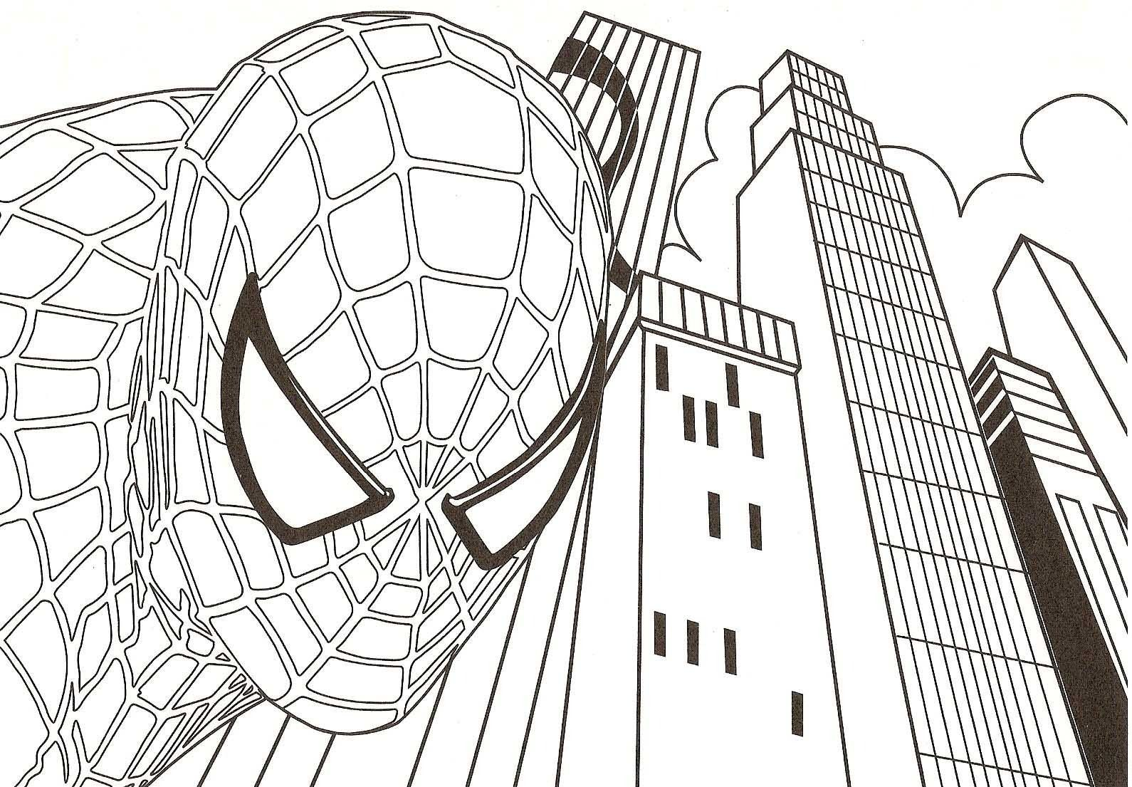 Free Printable Spiderman Colouring Games To Color | Coloring Pages ...