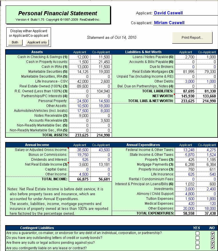 Pin on Financial Statement