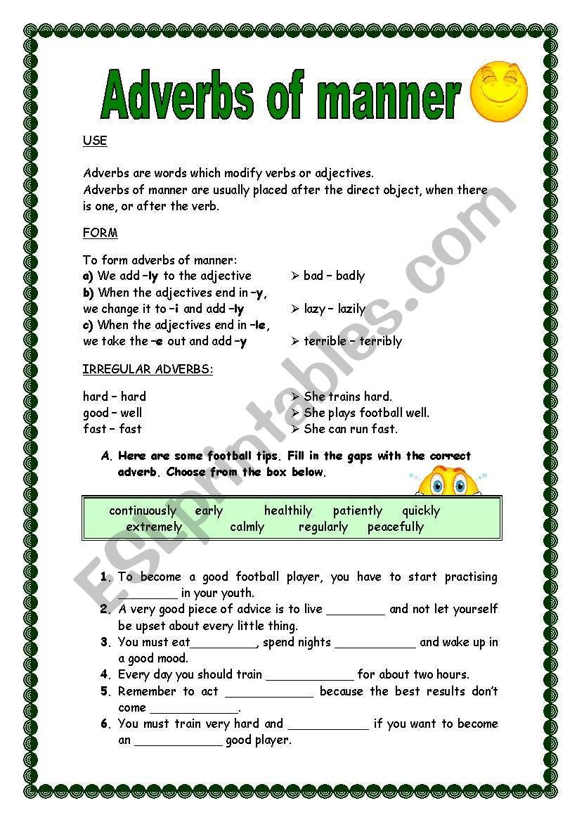 small resolution of 7 Adverbs Worksheets ideas   adverbs worksheet