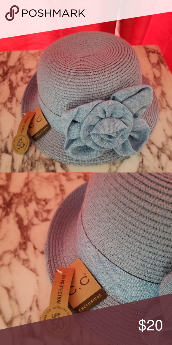 8beb409826f Light blue bucket hat Never worn Accessories Hats