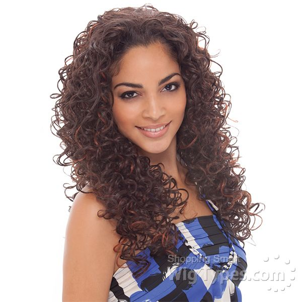 Janet Collection Natural Super Flow Synthetic Wig Zuri 7303