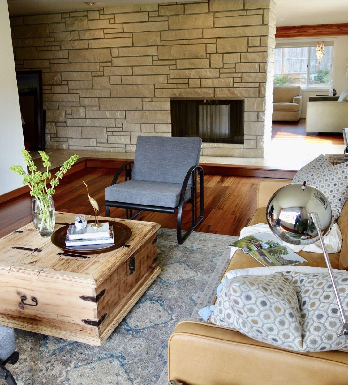 Midcentury midcentury modern remodel decorate living room