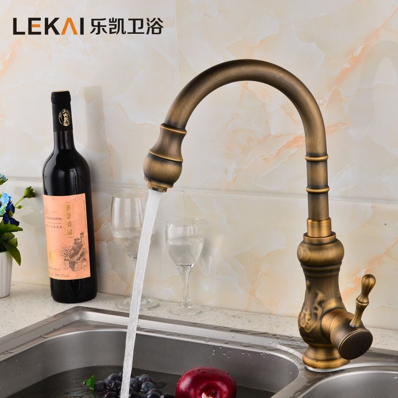 Single Hot And Cold Water Tank Faucet Can Be Rotated Vegetable