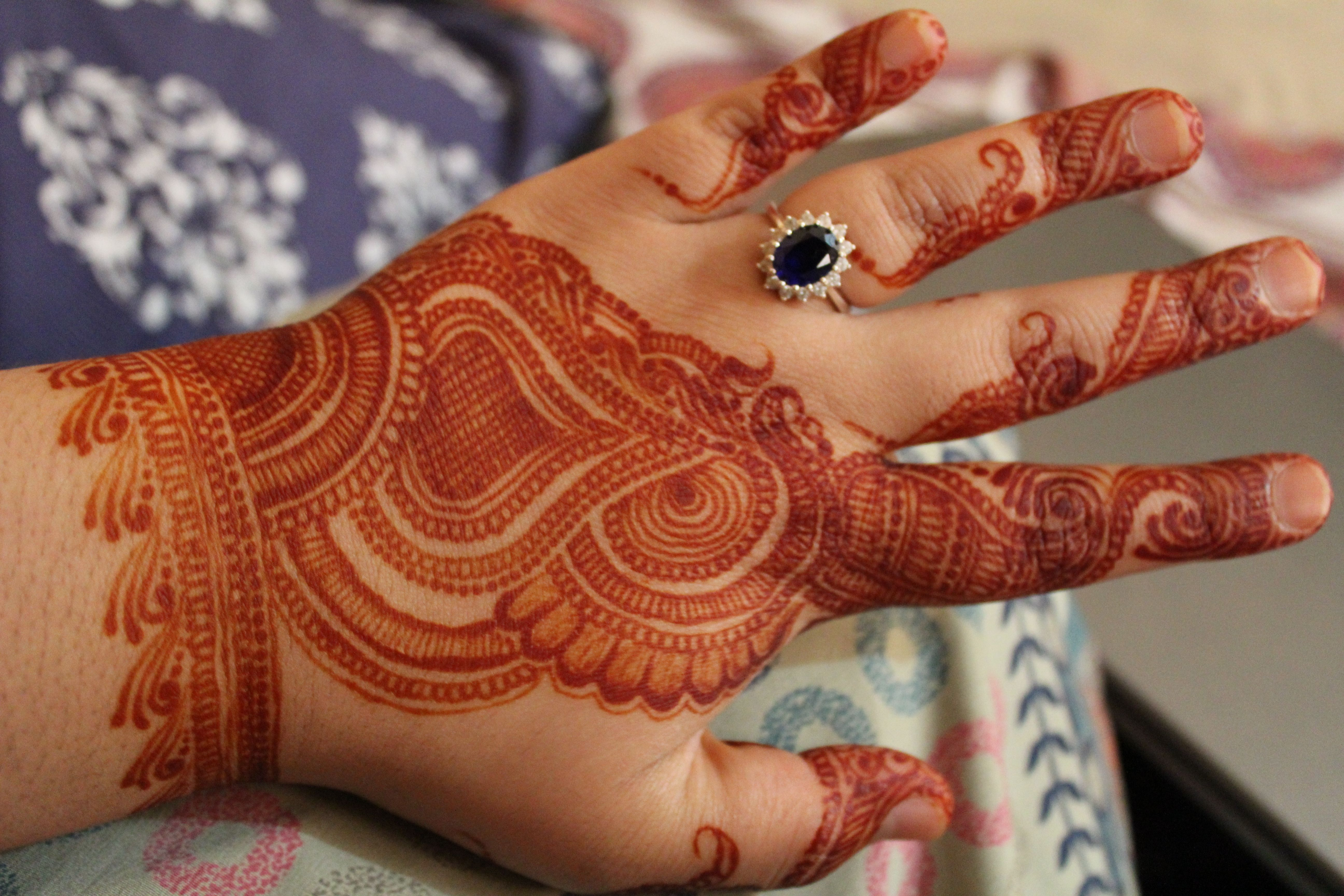 Mehndi In Hands : Party henna mehndi for hands washed off omg osamm