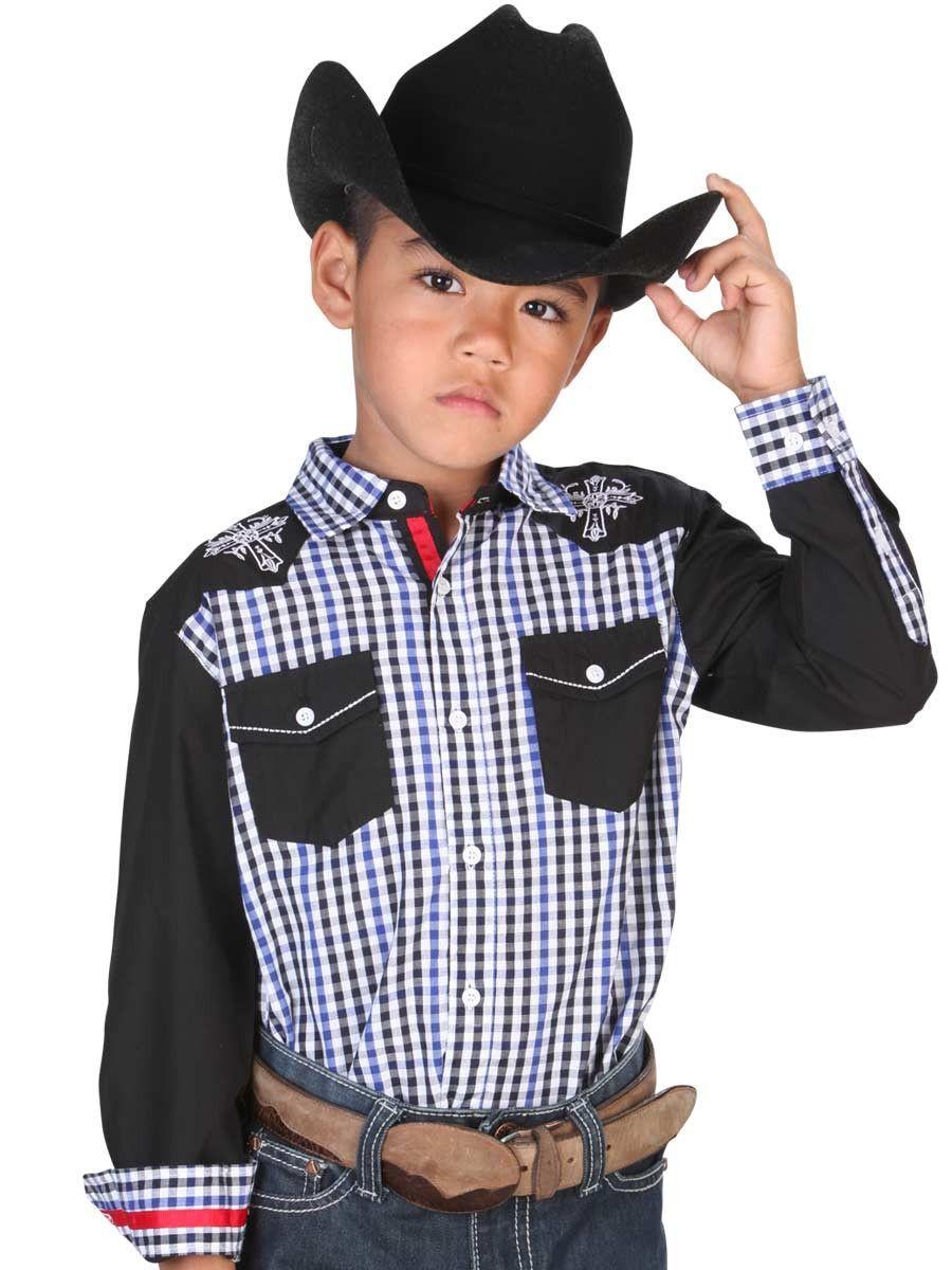 33161 Camisa Vaquera Niño El General  99fd73c525452