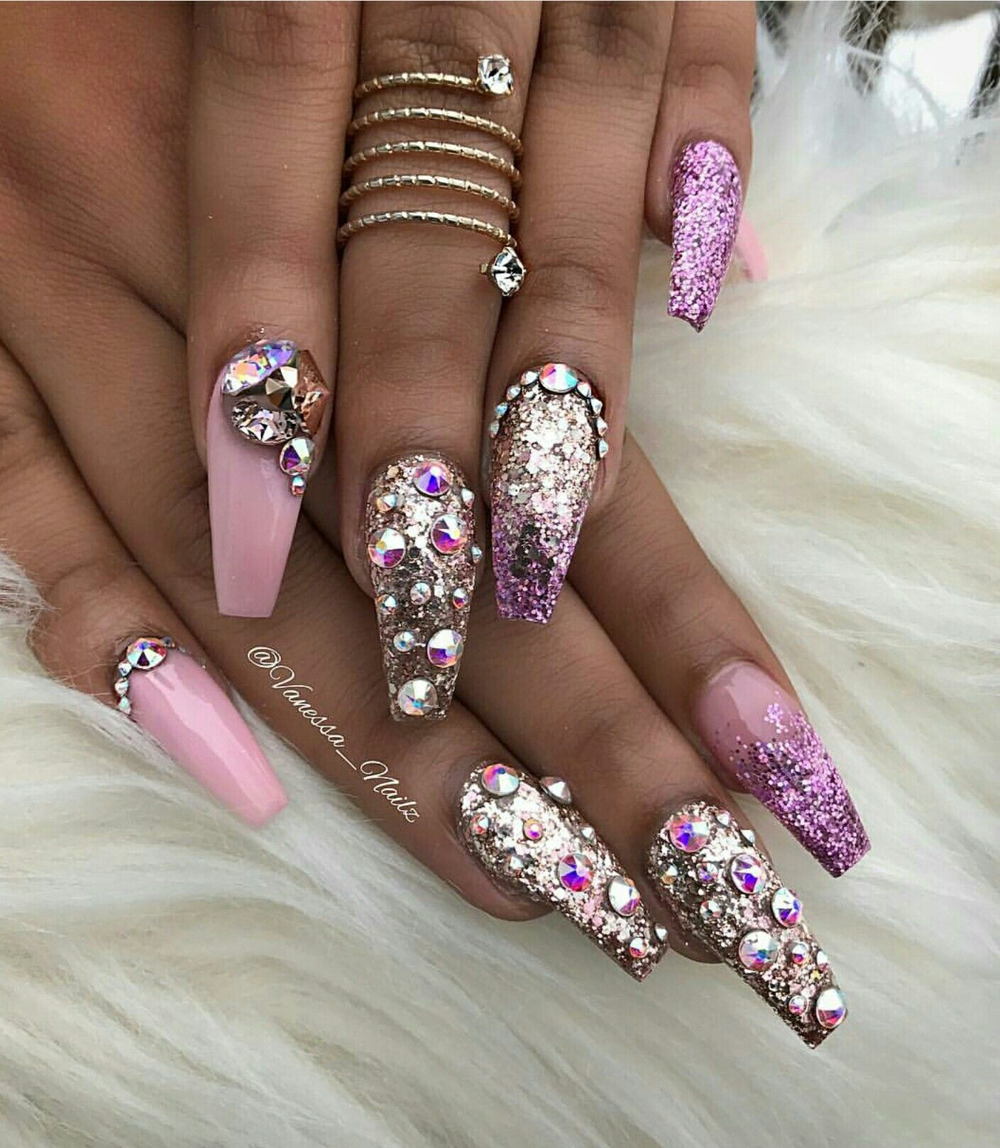 Pin by 💎KIANIA💎 on CLAW COUTURE | Pinterest | Bling nail art ...