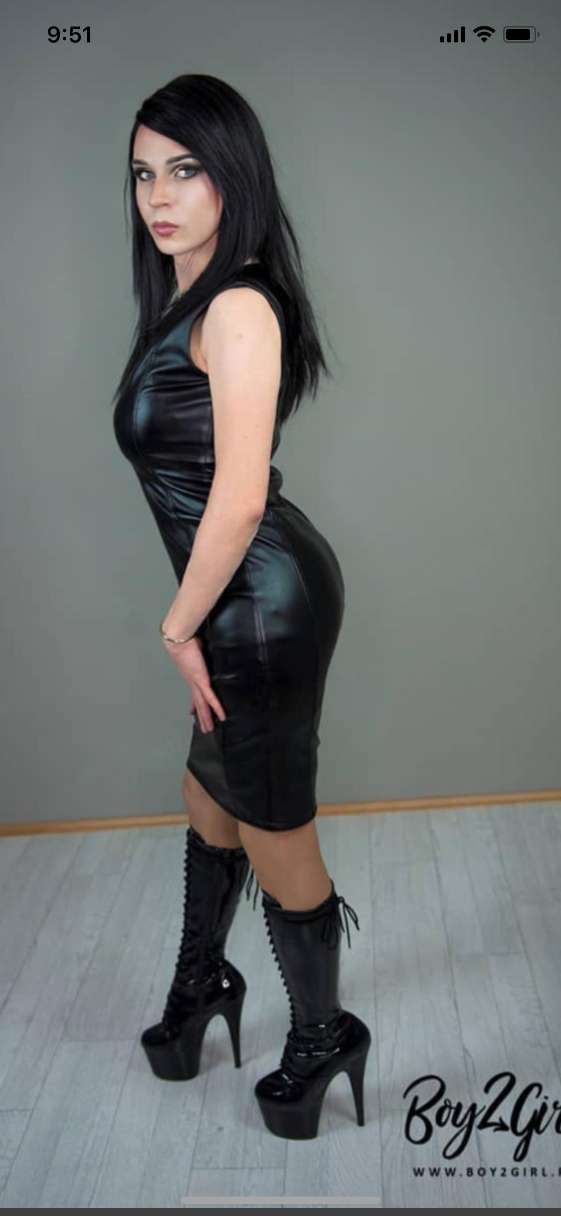 Pin on Leather Skirt Hotties