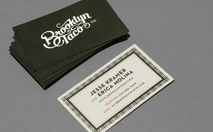 Brand spotlight brooklyn taco spotlight business cards and brand brand spotlight brooklyn taco colourmoves