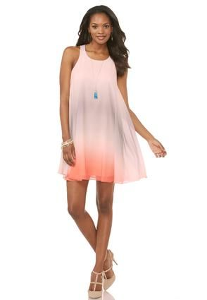 2372d04e182b Cato Fashions Ombré Swing Dress-Plus #CatoFashions | Clothing for ...