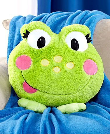 Plush Animal Pillow Friends Animal Kingdom Toadally Ter