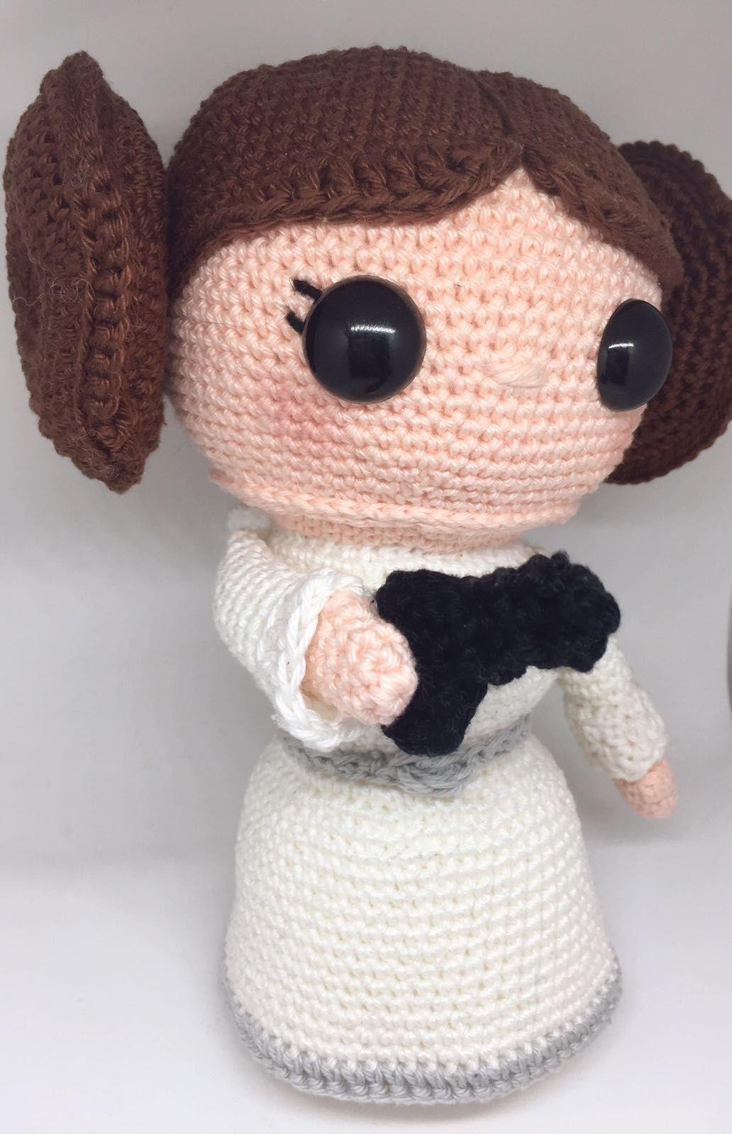 Amigurumi Crochet Princess Leia Organa   Etsy   1600x1032